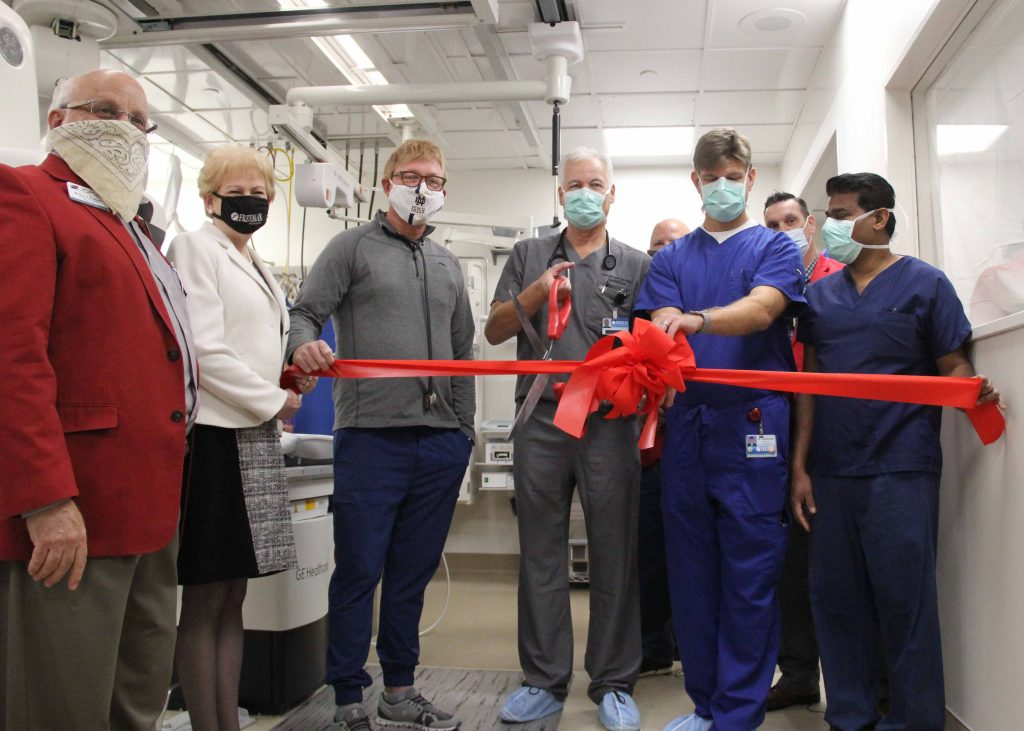 Freeman Invests in New Technology in New Cath Lab
