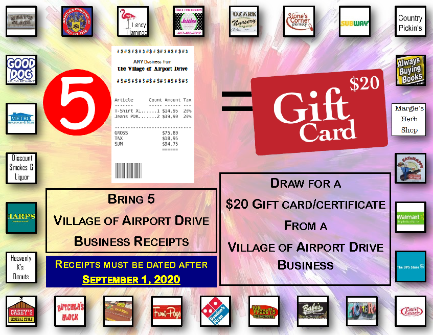 Support Airport Drive Businesses