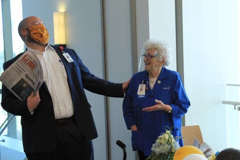 Mercy Volunteer, World War II Survivor, Celebrates 90th Birthday