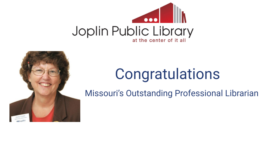 Reference Librarian Named Missouri's Outstanding Professional Librarian