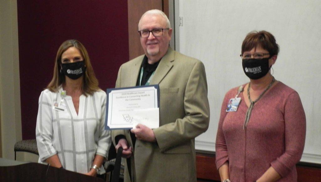 Freeman Physician Receives MOCAN Healthcare Professional Award