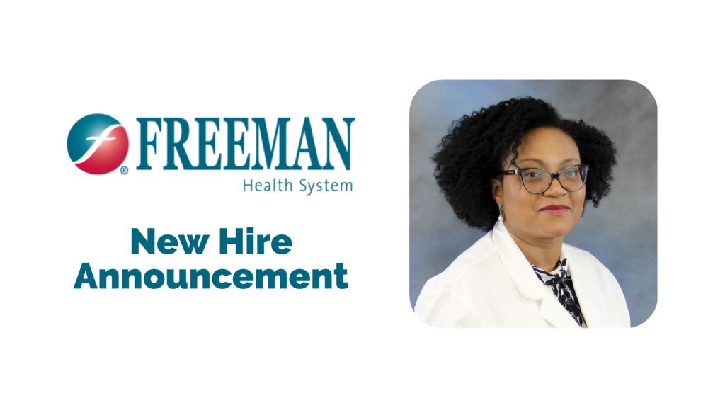 Freeman Welcomes New Oncologist