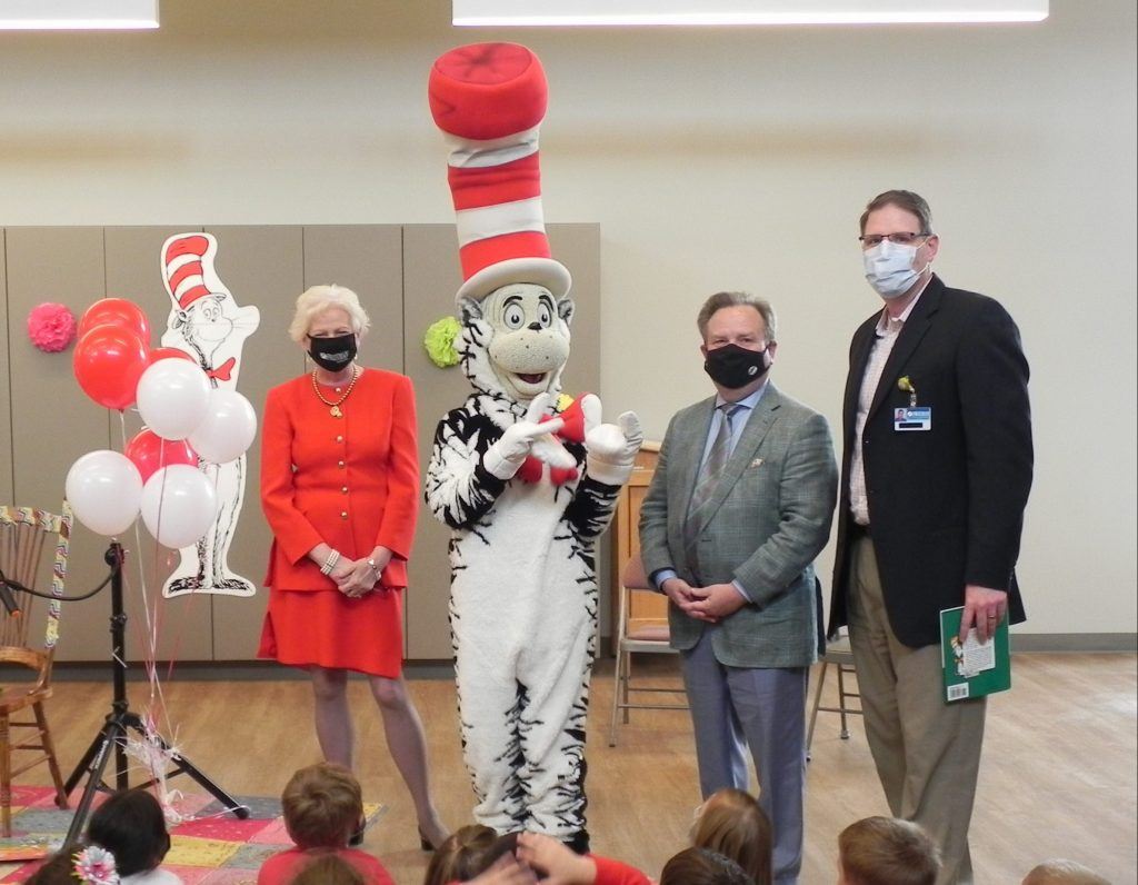 Freeman Teams Up with PBS for Reading Event