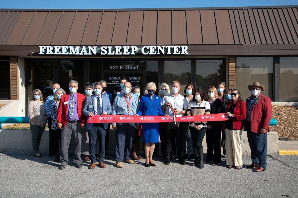 Freeman Sleep Center Expands